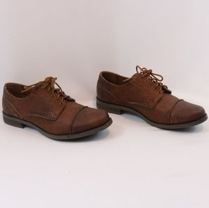 Crown Vintage Brown Florentina Oxfords